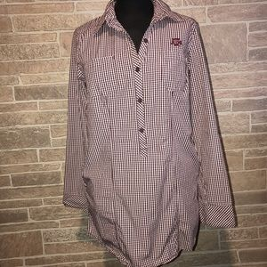 Texas A&M Aggies Columbia Blouse Size Small